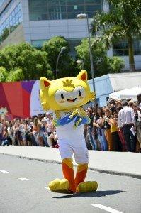 La mascotte Vinicius alle Olimpiadi di Rio 2016