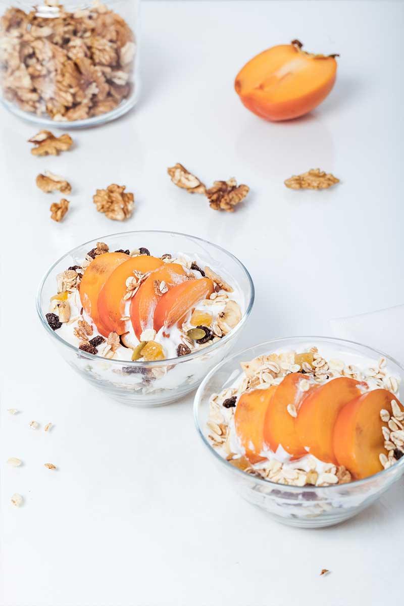 yogurt-and-fruit-for-breakfast