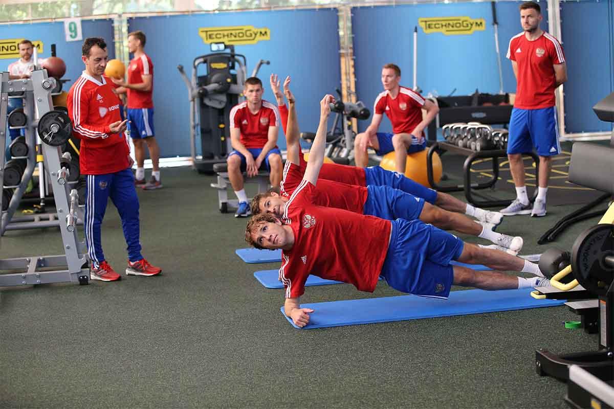 russia brasil world cup training img1