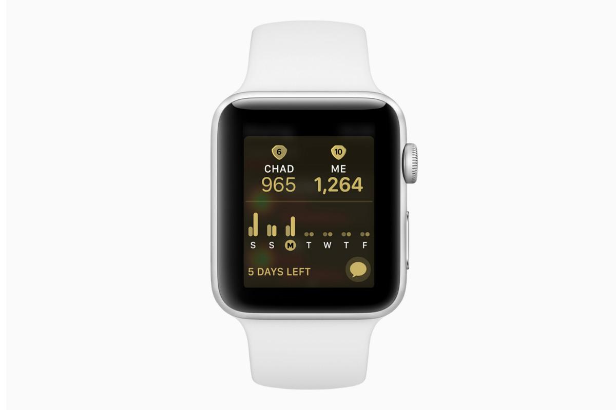 Apple watchOS 5 competizione
