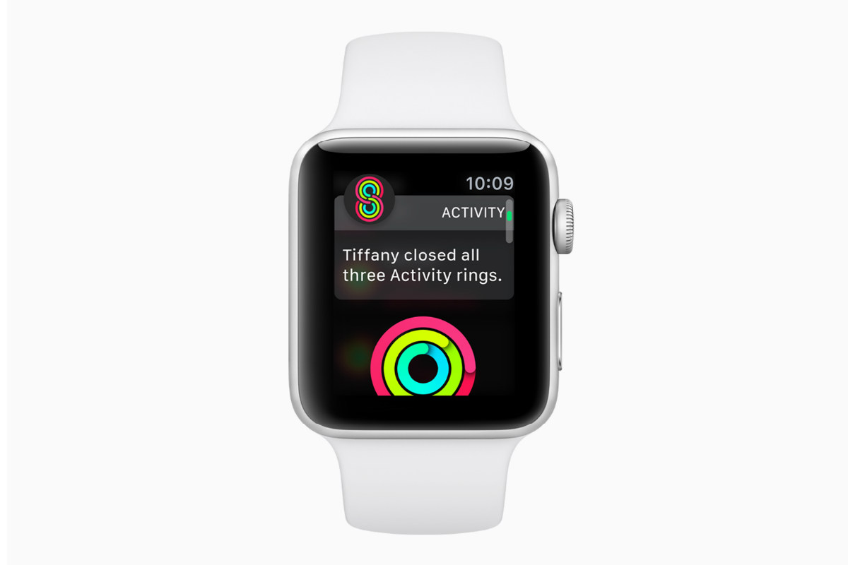 Apple watchOS 5 condivisione attivita