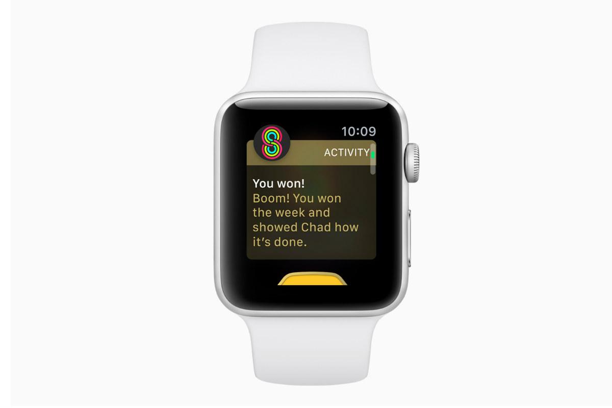 Apple watchOS 5 vittoria