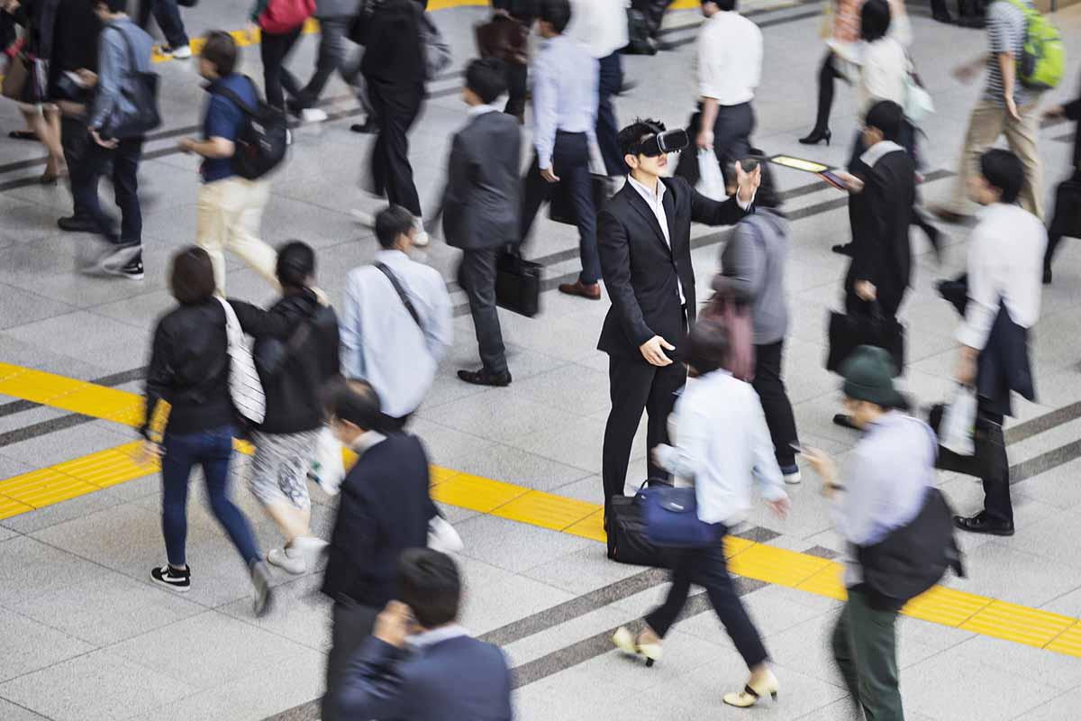 Virtual business reality