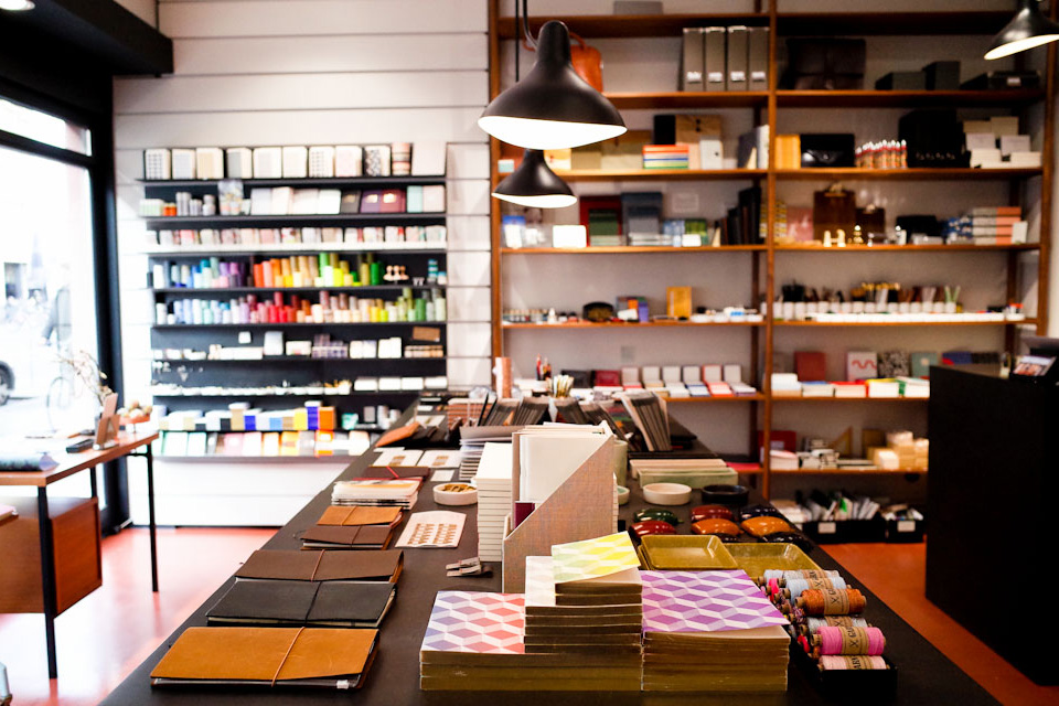 Luiban stationery in Mitte notebooks