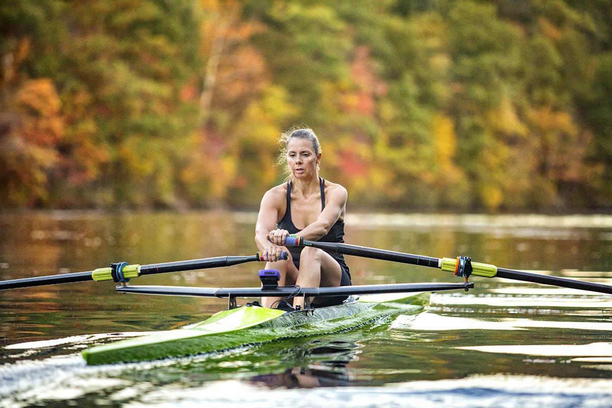 Female rower
