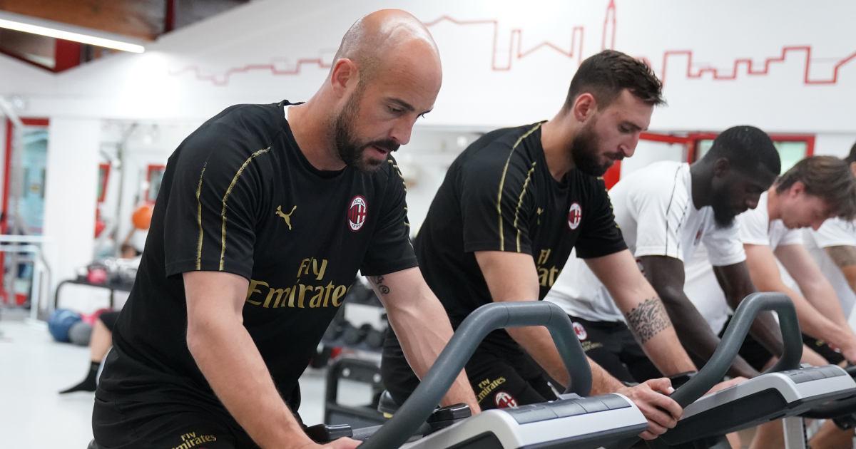 Since 1986 Technogym has been AC Milan